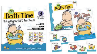 BabySigns DVDFunPack Bath